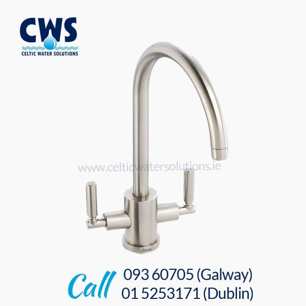 Abode Atlas Tri-Flow Tap - Brushed Nickel