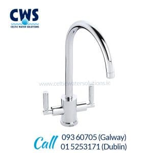 Abode Atlas Tri-Flow Tap - Chrome