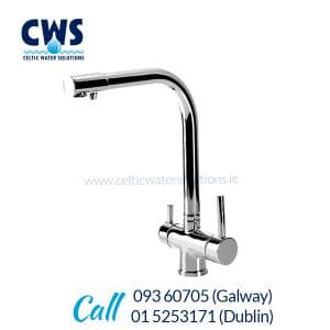 CWS 126 Tri-Flow Tap - Chrome