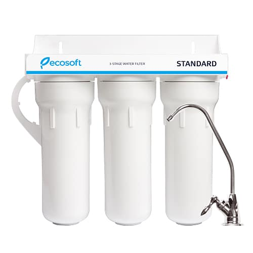 ecosoft 3 stage water filter