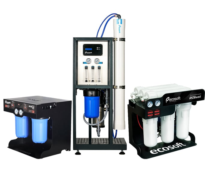 ecosoft commercial reverse osmosis series