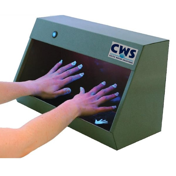 hand inspection cabinet