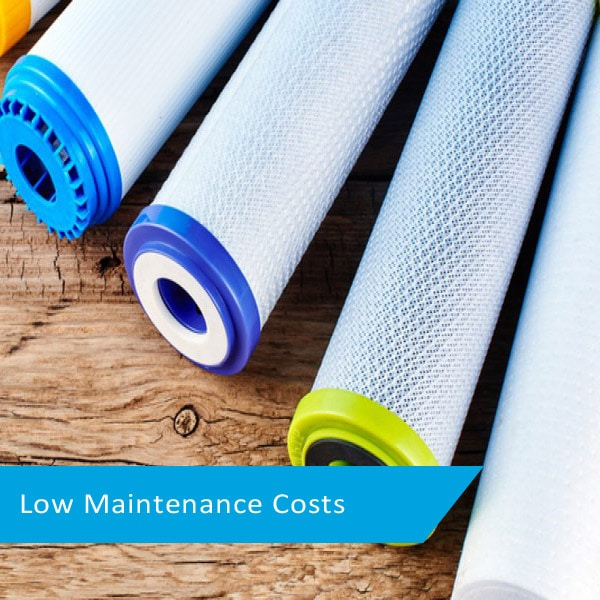low maintenance costs