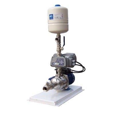 Single pump booster set